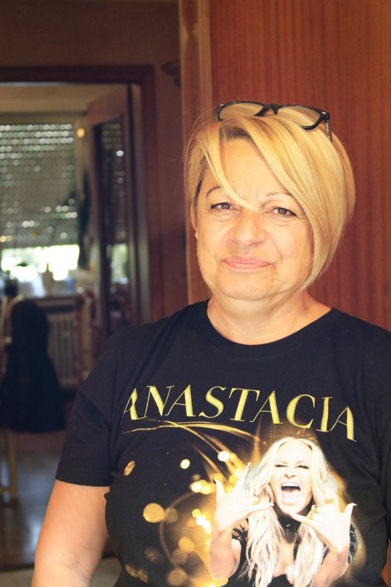 La grand-maman & Anastacia!