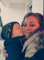 Auntie & nephew, joy