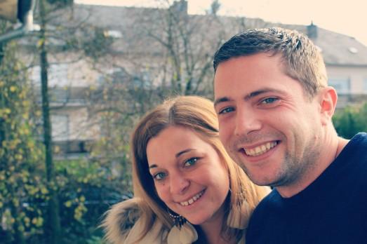 Beautiful, happy couple!