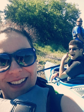 Cousins & I, Kayaking 2