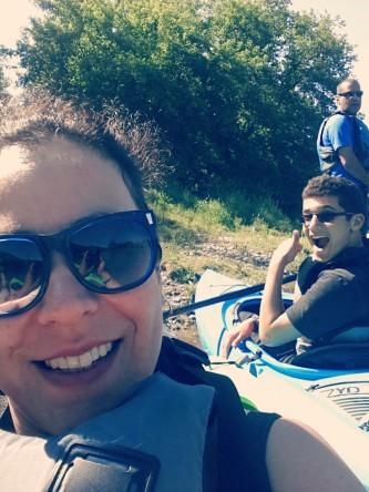 Cousins & I, Kayaking 2