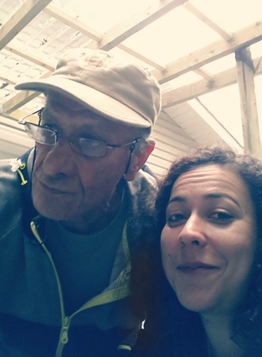 Uncle & Jojo on a rainy day, Laval