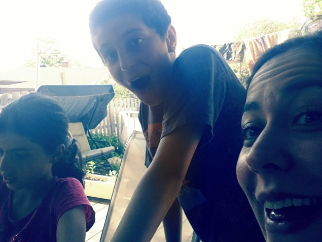 Cousins kids, & Jojo