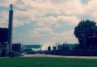 Cousin viewing Niagara