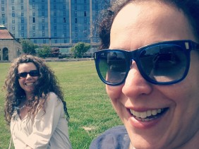 Cousin & I chilling in Niagara