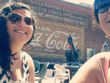 Erin & Jojo, & Coca Cola