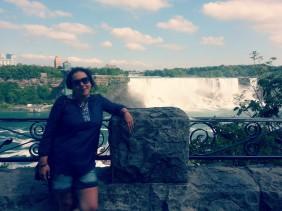 Jojo in Niagara - finally!
