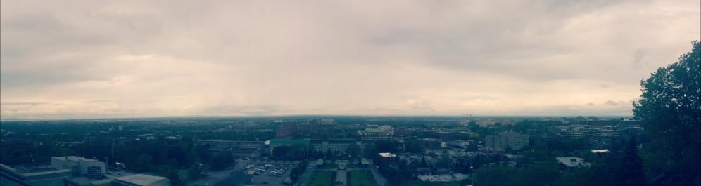 Overlooking Montreal