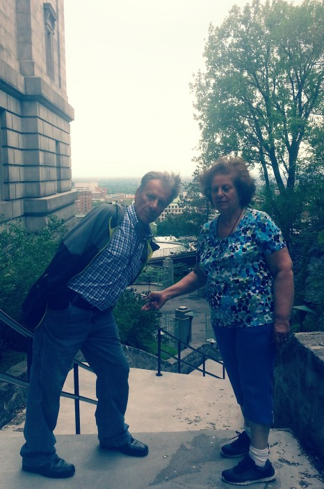 Auntie & Uncle, Saint Joseph's Oratory of Mount Royal