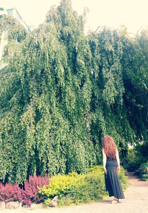 Weeping willow & goddess