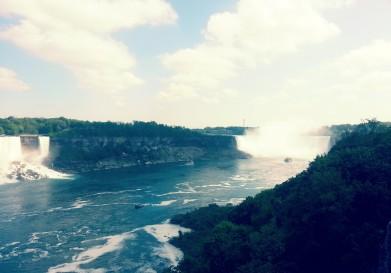 Wow! Niagara!