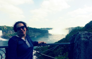 Jojo at Niagara Falls!
