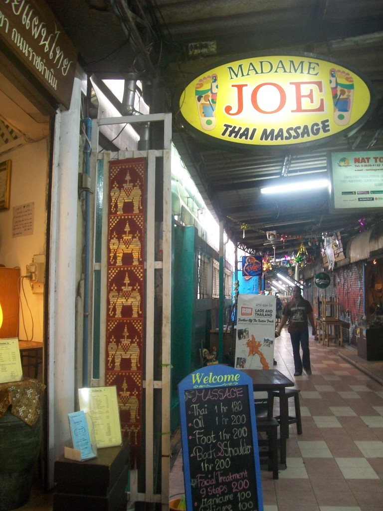 Madame Joe's Thai Massage
