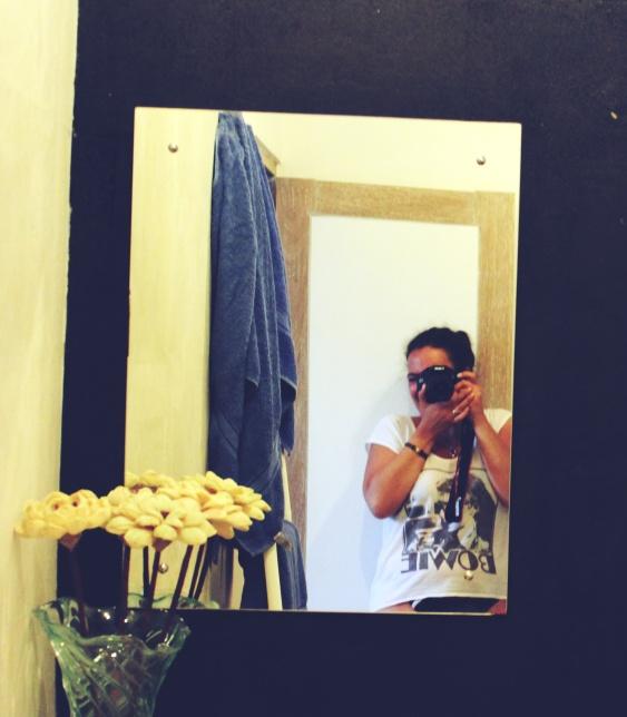 Self portrait - in the bathroom