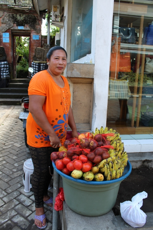 Street Fruit Vendor