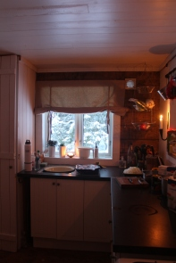 Cabin kitchen